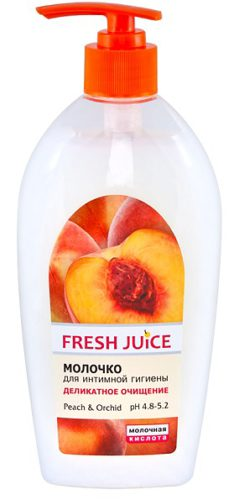 "Milk for Intimate Hygiene ""Peach Orchid"" 500мл"
