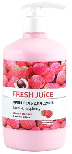 Cream Shower Gel Litchi & Raspberry 750мл