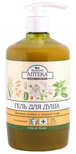 "Shower Gel ""Oat Flakes and Green Coffee"" 750мл"