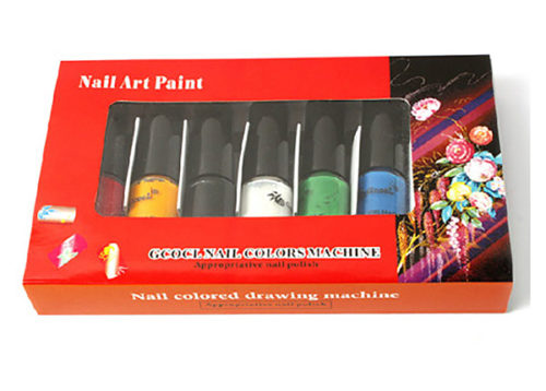GCOCL Stamping Nail Art Paints