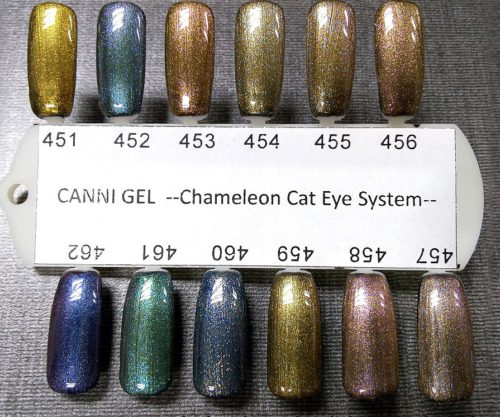 Cats Eye - Chameleon Gel Polish Palette 1 шт