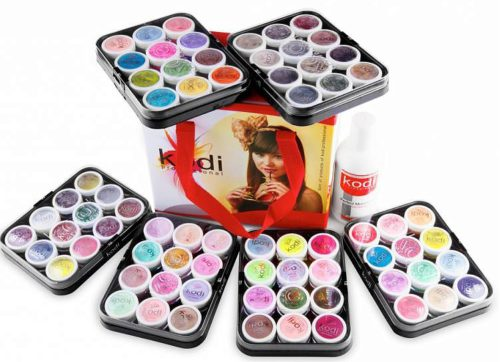 Colored Acrylics Kit in Suitcase