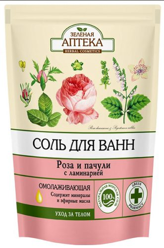 "Bath Salts ""Rose and Patchouli"" 500г doypack"