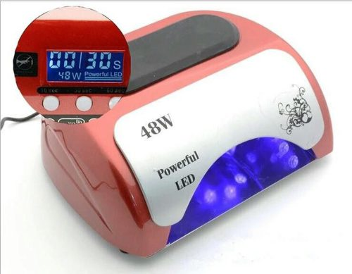 LED UV Lamp 48W Red