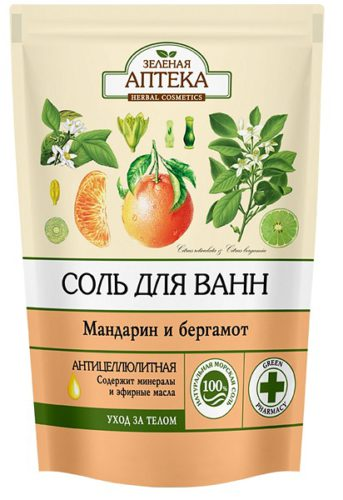 "Bath Salts ""Mandarin and Bergamot"" 500г doypack"