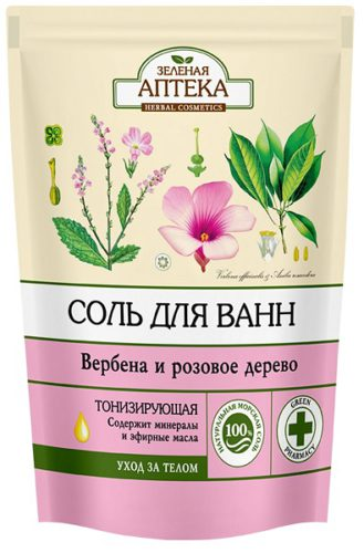 "Bath Salts ""Verbena and Rosewood"" 500г doypack"