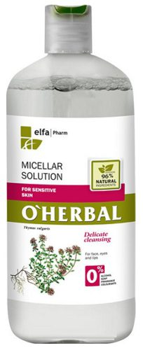 Micellar Solution for Sensitive Skin with Thyme Extract 500мл