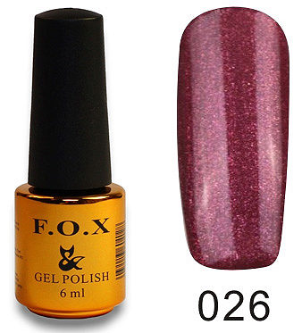 Gel Polish Gold Pigment №026 6 мл