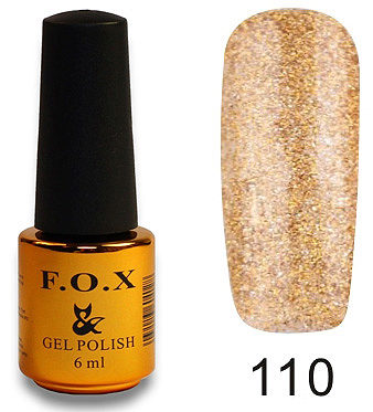 Gel Polish Gold Pigment №110 6 мл