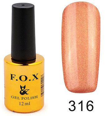 Gel Polish Gold Pigment 316 12 мл