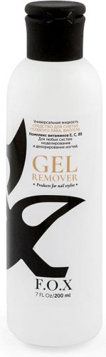 Gold Gel Remover F.O.X 250 мл
