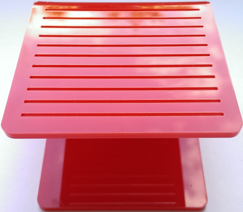 Stand for Stamping Disk Red