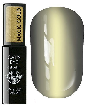 Gel Polish Cats eye Magic gold 8мл