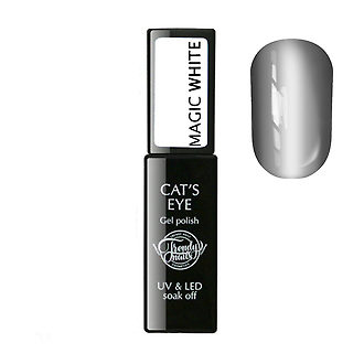 Gel Polish Cats eye Magic white 8мл