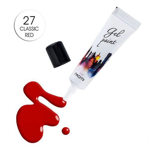 Gel Paint №27 Classic Red 10г