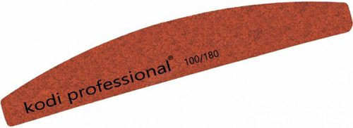 Nail File Half Brown 100/180 грит