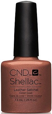 Shellac Leather Satchel 7,3 мл
