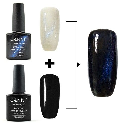 Top Coat Cats Eye Blue 7,3 мл