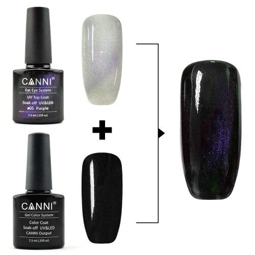 Top Coat Cats Eye Lilac 7,3 мл