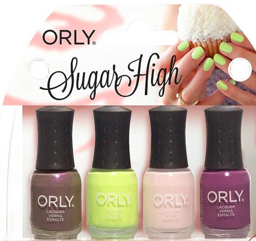 Mani Mini Kit Sugar High 4 шт по 5.3 мл