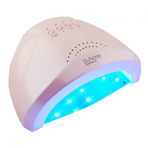 SUNone Professional LED Nail Lamp Pink 48 Вт