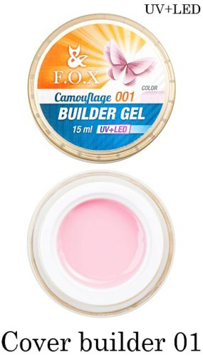 Cover Camouflage Builder Gel 001 15 мл