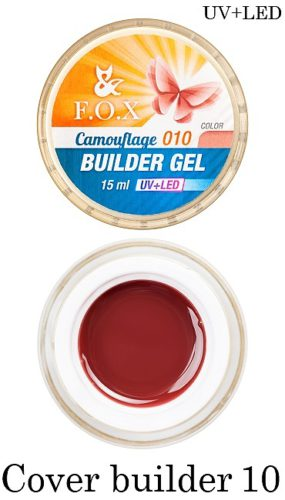 Cover Camouflage Builder Gel 010 15 мл