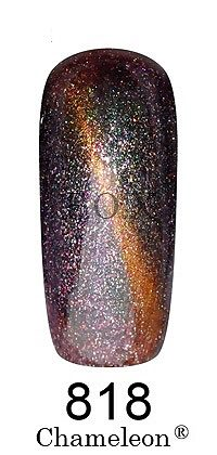 Gel Polish Gold Chameleon №818 6 мл