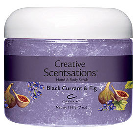 Scentsations Black Currant & Fig Scrub198 г