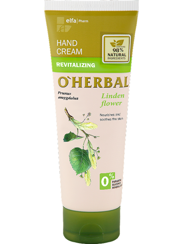 Revitalizing Hand Cream With Linden Flower Extract 75 мл