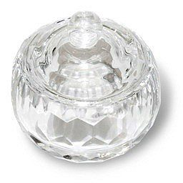 Glass Dapping Dish with a Lid