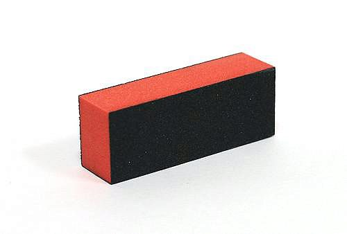 Block Buffer Orange in Black 60/100 грит