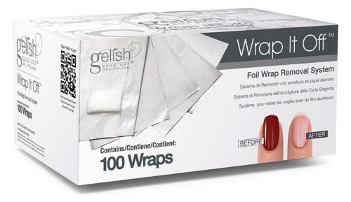 Gelish Wrap It Off 100 шт