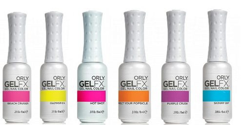 Gel FX Gel Spring Neon Collection 2013
