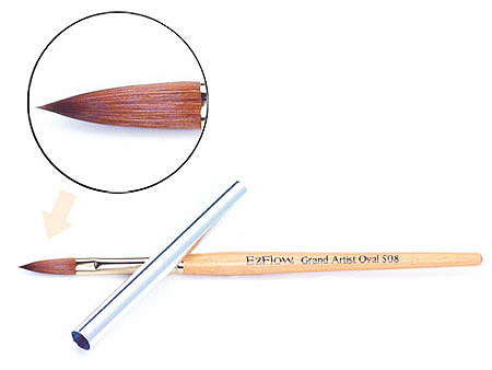 Grand Artist Oval Brush #508
