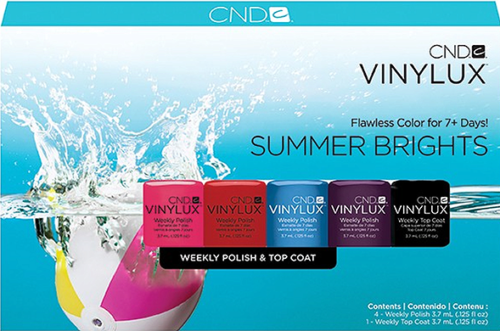 Vinylux Summer Brights Pinkies Collection