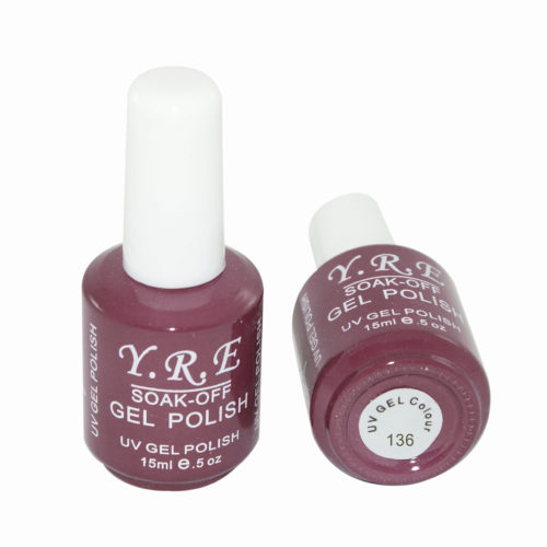 Soak-Off Gel Polish №136 15 мл