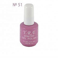 Soak-Off Gel Polish №51 15 мл