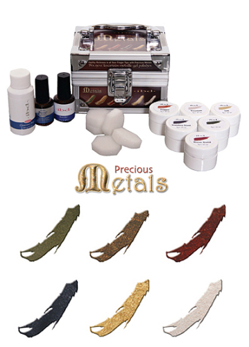 Precious Metals Gel Polish Kit