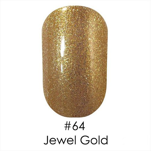 Gel Polish №64 Jewel Gold Topoz 12 мл