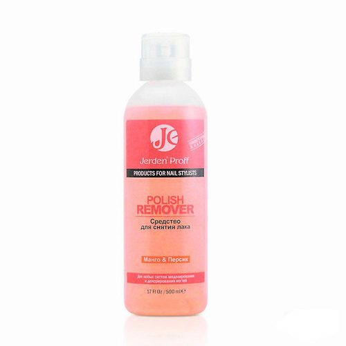 Mango and Peach Polish Remover Acetone 500 мл