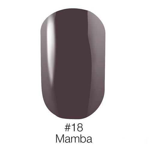 Gel Polish №18 Mamba 6 мл