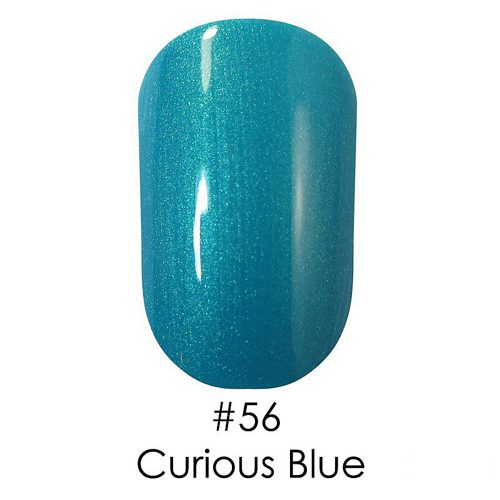 Gel Polish №56 Curious Blue 6 мл