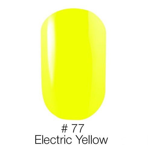 Gel Polish №77 Electric Yellow 6 мл