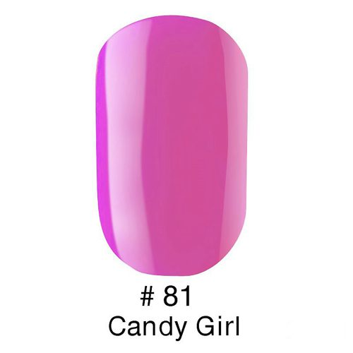 Gel Polish №81 Candy Girl 6 мл