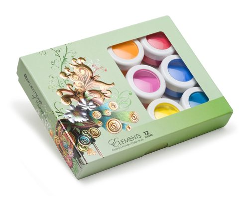 Elements Colored Powder Collection
