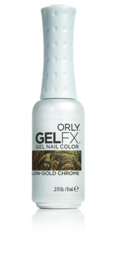 Gel FX Yellow Gold Chrome 9 мл