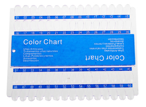 Color Chart 60