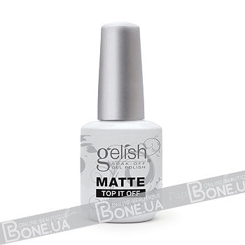 Gelish Matte Top-It-Off Soak Off Gel Sealer 15 мл