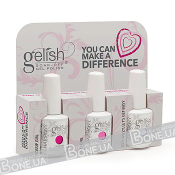 Gelish You Can Make a Difference Trio Kit